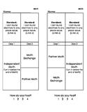 Math Exchange Worksheets (Place Value)