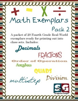 Math Exemplar Set 02 - 20 Story Problems with Answer Key