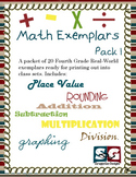 Math Exemplars Set 01 - 20 Story Problems with Answer Key