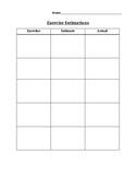 Math-Exercise Estimation