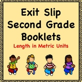 Math Exit Slips (Length in Metric Units)