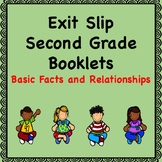 Math Exit Slips (Basic Facts and Relationships)