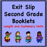 Math Exit Slips  (Length in Customary Units)