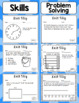 Math Exit Slips - 3rd Grade Common Core Measurement and Data