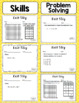 Math Exit Slips - 5th Grade Common Core Operations and Alg