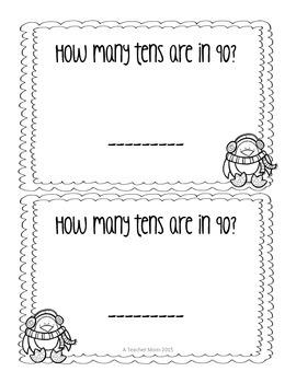 Math Exit Slips - January - Grade 1
