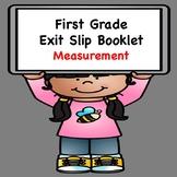 Math Exit Slips (Measurement)