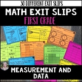 Math Exit Slips (Measurement and Data) 1.MD
