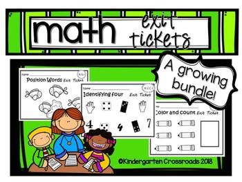 Math Exit Tickets
