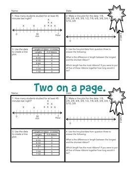 Math Exit Tickets Slips Mini Assessments All 5th grade common core standards