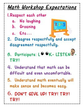 Math Expectations