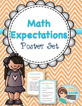 Math Expectations Poster Set