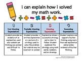Math Explanation Rubric