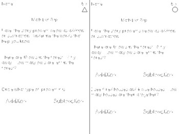 Math Expression Exit Slips - Unit 5