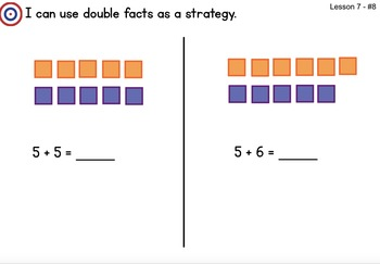 Math Expression Grade 2/Unit 1 Smart Notebook - RTI Lessons 1-20