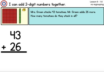 Math Expression Grade 2/Unit 2 Smart Notebook - RTI Lessons 1-14