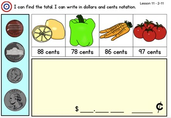Math Expression Grade 2/Unit 2 Smart Notebook - RTI Lessons 1-14