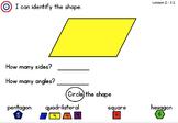 Math Expression Grade 2/Unit 3 Smart Notebook - RTI Lessons 1-8