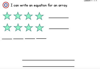 Math Expression Grade 2/Unit 7 Smart Notebook - Lessons 1-5