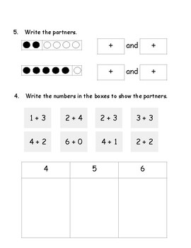 Math Expression Unit 1 Practice Test (First Grade)