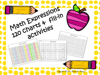 Math Expressions 120 charts and activities