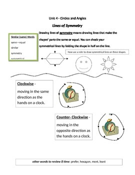 Math Expressions 5th Grade Vocabulary Companion Unit 4