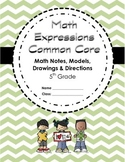 Math Expressions CC: Grade 5 Yearlong Student Math Notebook