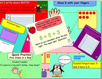 Math Expressions First Grade Unit 1
