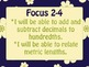 Math Expressions Common Core Learning Goals/Focus 5th Grade Unit 2