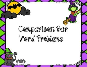 Comparison Bar Word Problems