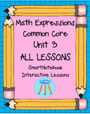 Math Expressions First Grade Unit 3