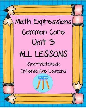 Math Expressions First Grade Unit 3