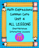 Math Expressions First Grade Unit 4