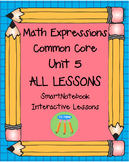 Math Expressions First Grade Unit 5