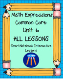 Math Expressions First Grade Unit 6