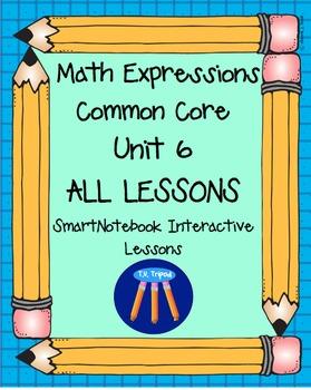 Math Expressions First Grade Unit 6