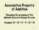 Math Expressions Fluency Unit Vocab