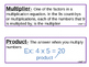 Math Expressions Grade 3 Unit 1 Vocabulary