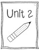 Math Expressions Journal Writing Prompts Intervention Unit 2