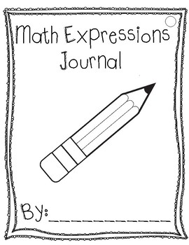 Math Expressions Journal Writing Prompts Intervention Unit 4