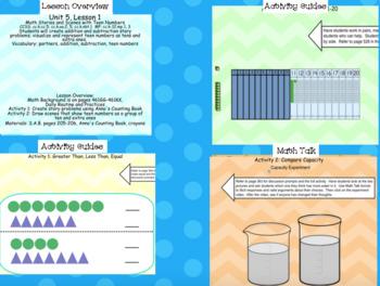 Math Expressions Kindergarten Bundle