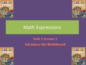 Math Expressions Lesson Plans