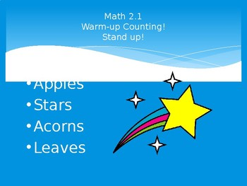 Math Expressions Lessons 1 - 12 PowerPoint