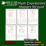 Mystery Picture - Math Expressions - Order of Operations #1