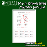 Mystery Picture - Math Expressions – Pear - Freebie
