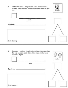 Math Expressions Story Problems