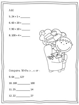Math Expressions - Study Guide - Chapter 2 (Grade 2)