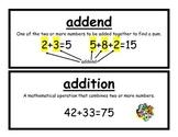Math Expressions Third Grade Vocabulary