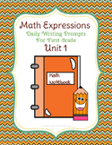 Math Expressions Unit 1 Daily Prompts