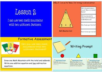 Math Expressions Unit 1 Grade 2 Smart Notebook Companion Files